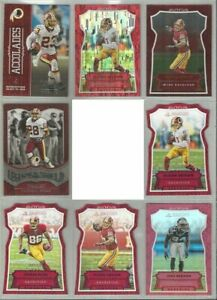 Washington-Redskins-8-card-2016-Panini-insert-amp-parallel-lot-all-different