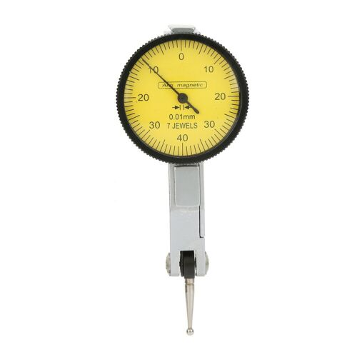 Adjustable Magnetic Flexible Base Holder Stand with Dial Test Indicator Gauge