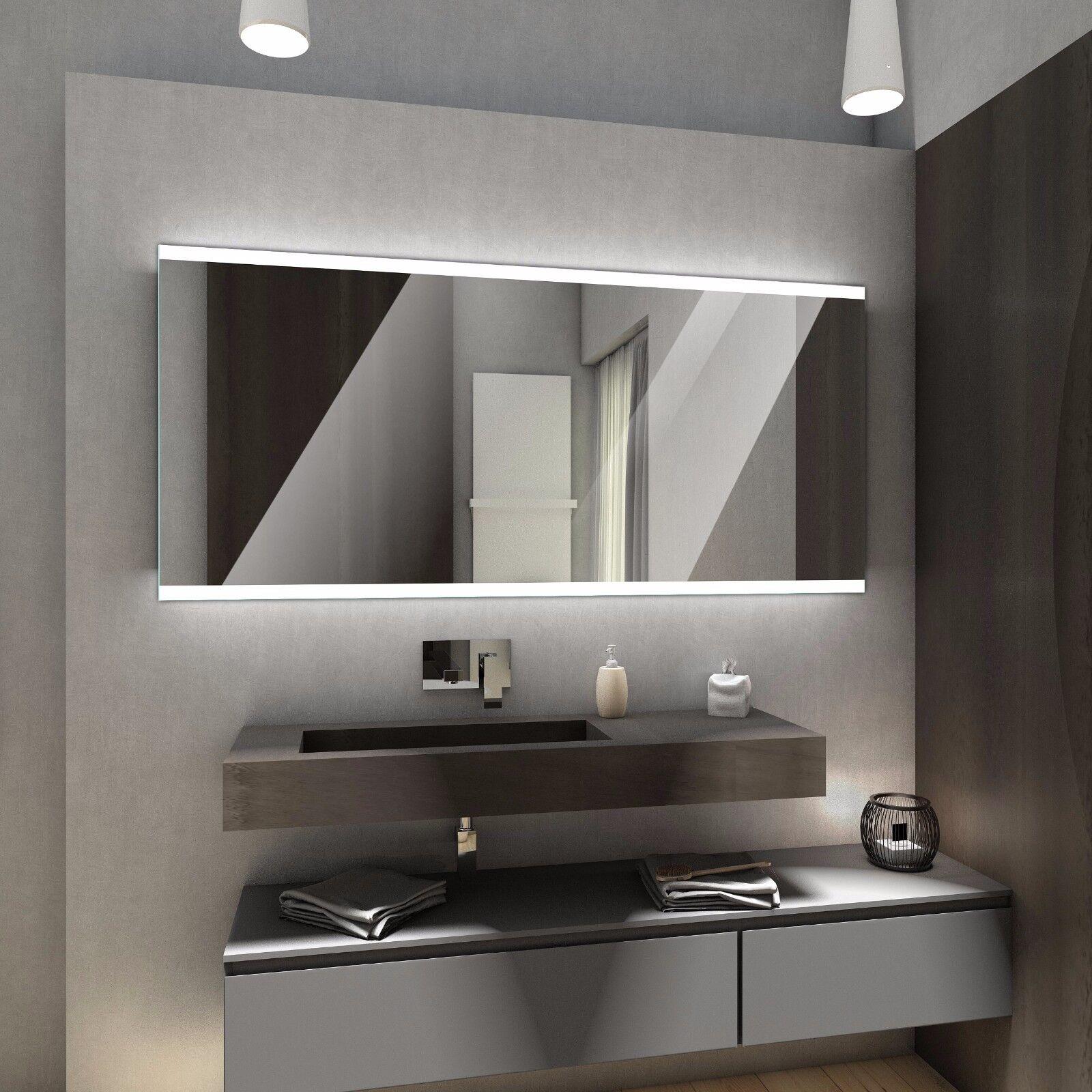 BRASIL MULTILED Badspiegel mit LED Beleuchtung Badezimmerspiegel nach Maß