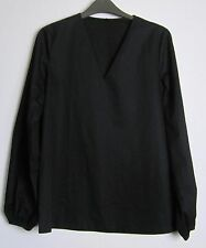 Cos Voluminous Sleeve Tunic Top – UK Size 34 – EU 8 –  New – Black