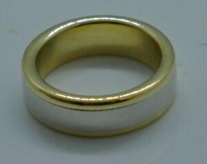 18kt-950-platinum-men-039-s-wedding-band-designer-034-Diana-034-17-7-grams-size-9
