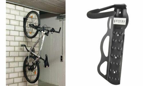 Tragkraft schwarz FISCHER Fahrrad-Wandhaken 20 kg