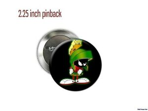 Marvin-the-Martian-Alien-with-Laser-2-1-4-034-new-Pinback