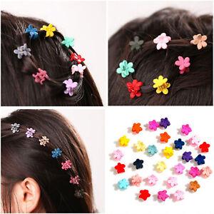 30-PCS-Baby-Girls-Mini-Claw-Hairpin-Small-Cute-Flowers-Gripper-Plastic-Hair-Clip