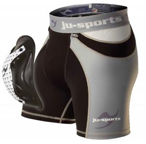 Ju-Sports Compression ProLine Shorty + Motion Pro Flexcup,ver.Gr<wbr/>ößen, Muay Thai,