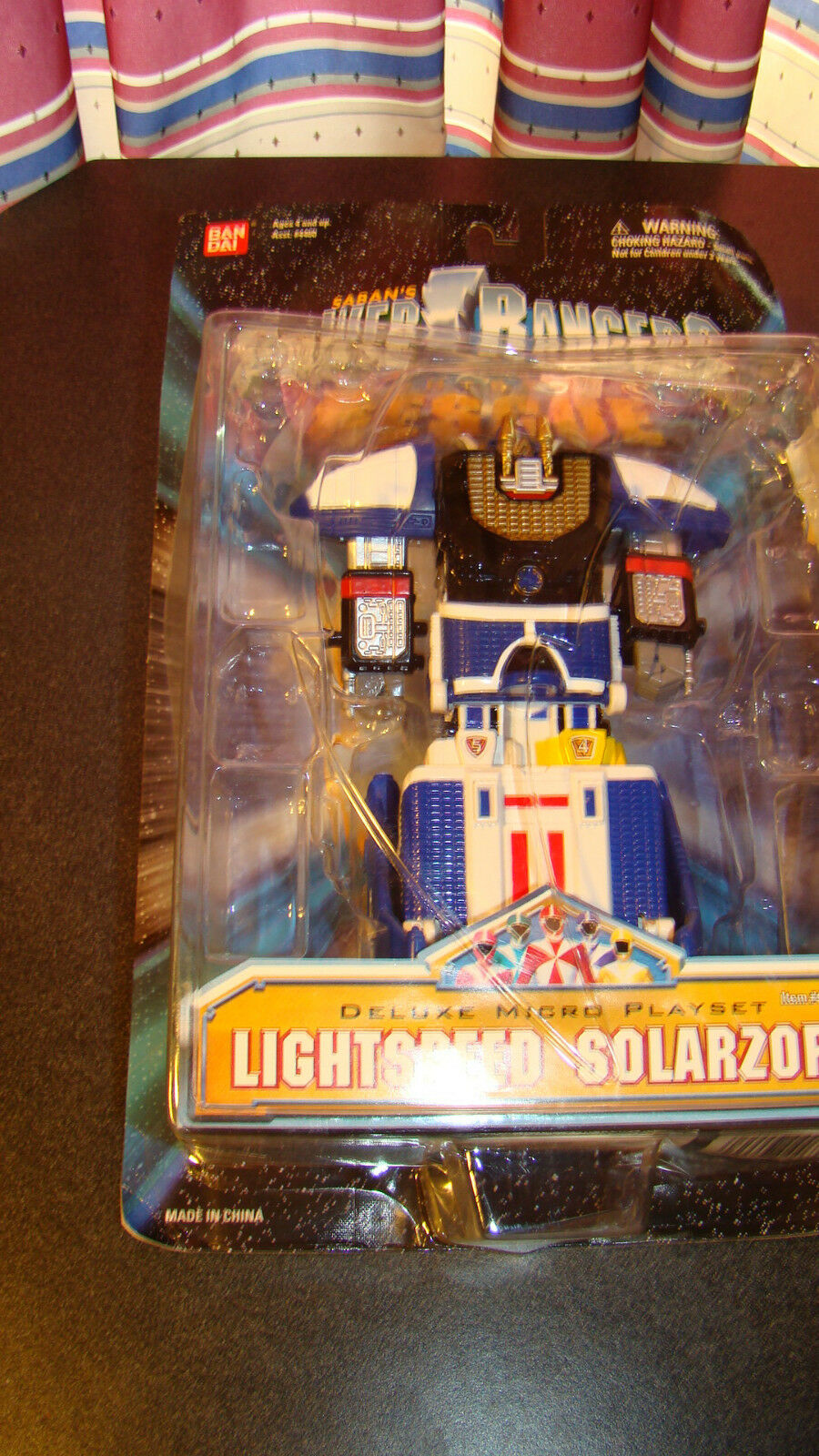 Power Rangers Lightspeed Rescue Deluxe Microplay Set Lightspeed Solarzord  RARE