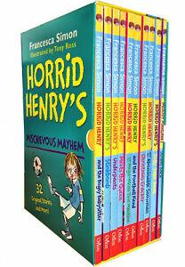 Horrid-Henry-039-s-Mischievous-Mayhem-10-Books-Children-Collection-Paperback-Box-Set