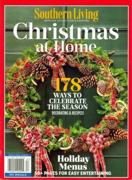 Southern Living Christmas 2021 Southern Living Special Collector S Edition Christmas At Home 2020 Magazine I1 For Sale Online Ebay
