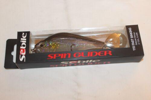 SEBILE-SPIN GLIEDER-FAST SINKING-115mm-90g--BIG GAME-NEU