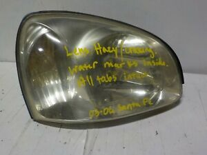 Santa Fe Late 03 06 Oem Headlamp Light
