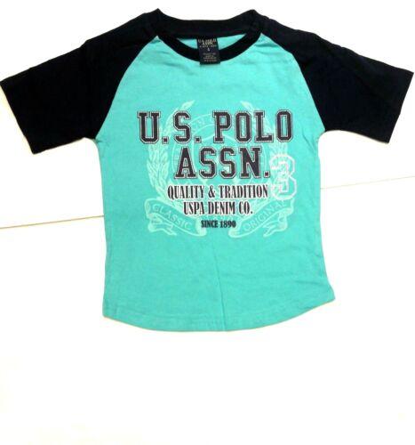 Polo Assn Boys/' Long Sleeve Woven Shirt T-Shirt and Short Set U.S