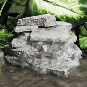Image Is Loading Birds Choice Layered Resin Rock Outdoor Garden Decor