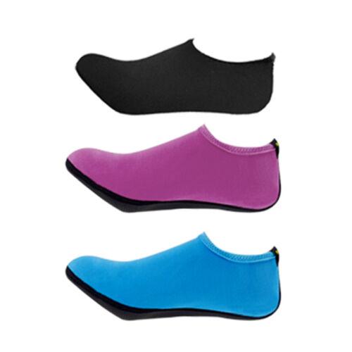 Unisex Barefoot Water Skin Shoes Aqua Socks for Beach Swim Surf Yoga Exercise#OC
