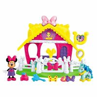 Minnie Mouse Fisher-price Disney Minnie Jump 'n Style Pony Stable