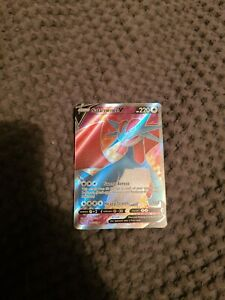 Salamance V 185/189 & Salamance VMAX FULL ART 144/189 Pokemon Cards Pack Fresh