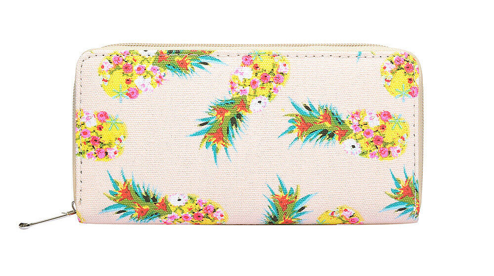 The Olive House® Womens Pineapple Design Purse Wallet