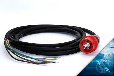 CEE Starkstromkabel 16A 5x2,5mm² mit Phasenwender Verlängerungskabel 15 Meter