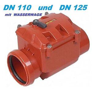 Rueckstauklappe-Rueckstauverschluss-DN-110-100-mm-Rattenschutz-Abwasserrohr-KG