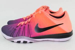 bf1962a04820 NIKE FREE TR 6 SPECTRM WOMAN SIZE 5.5 MANGO NEW RARE RUNNING