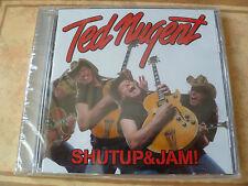 Ted Nugent - Shut Up & Jam! (CD 2014) SAMMY HAGAR DAMN YANKEES AMBOY DUKES
