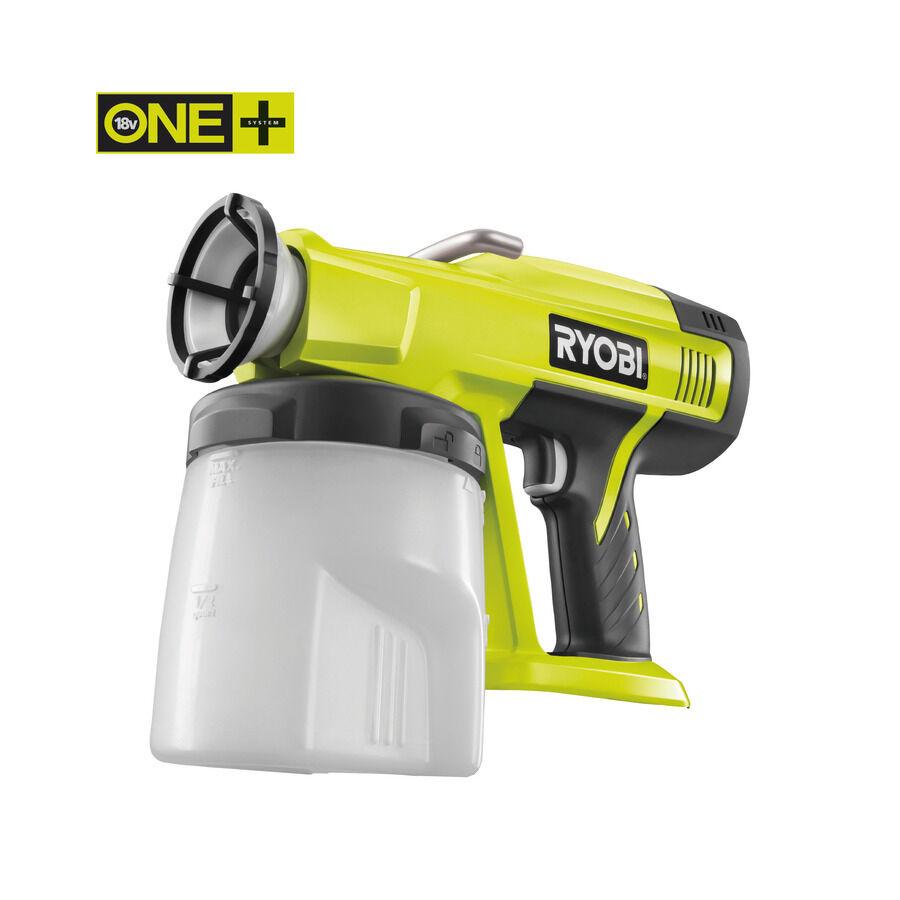 Ryobi ONE+ Farbsprühpistole P620 ohne Akku und Ladegerät (Sprühpistole)