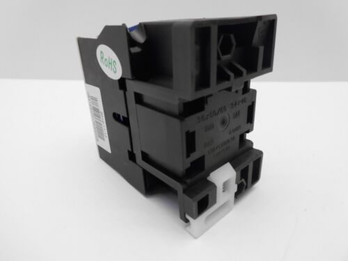 CHINT nc1 5.5 kW AC Coil Contactor 4 pôles 3 Main /& 1 N//O poles aux Starter 12 Amp