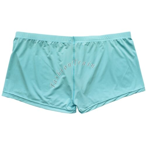 Men/'s Smooth Bulge Pouch Boxer Briefs Shorts Bikini Underwear Underpants Trunks