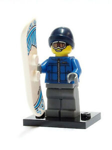 col05-16 NEW LEGO Snowboarder  Series 5 FROM SET 8805  COLLECTIBLES