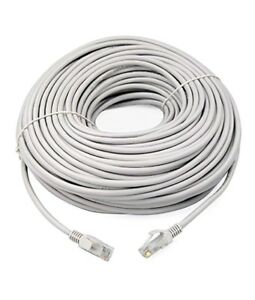 EXTRA LONG 30M METRE LONG NETWORK ETHERNET Cable INTERNET Wire LAN ...