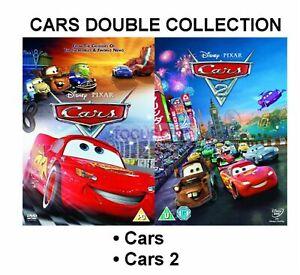 Details About Cars Part 1 2 Dvd Double Pack Movie Film Original Walt Disney Pixar Sealed Uk