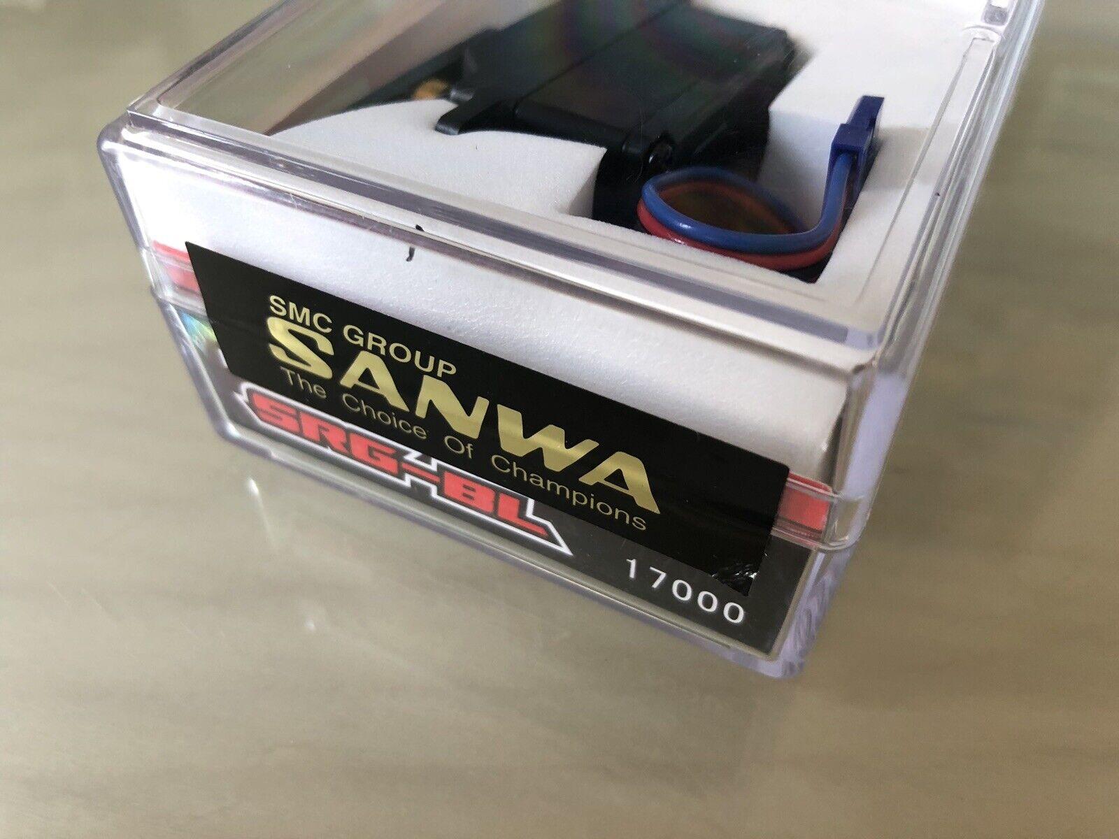 Sanwa SRG-BL Servo BNIB.Låg profil.Savox PGS högsta effekt Propo Futaba Rsx3