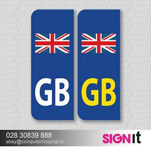2-x-GB-Flag-Euro-Number-Plate-Stickers-EU-European-Road-Legal-Car-Vinyl-Sticker