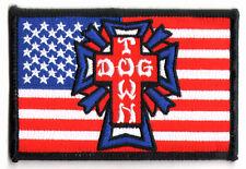 Dogtown Skateboard Patch - US Flag - old school skateboarding venice new skate