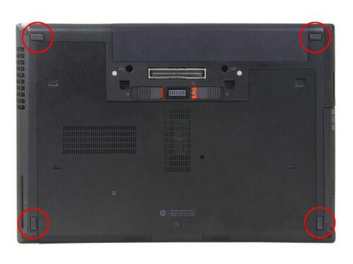 4x Rubber Feet For HP EliteBook 8460P 8470P 6460B 6470B Series Bottom Case Cover