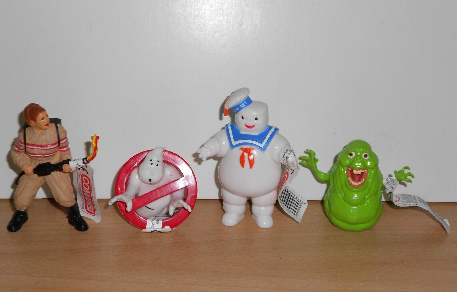 Complete Set - GHOSTBUSTERS ANSWER THE CALL - 4 PVC FIGURES Figurines