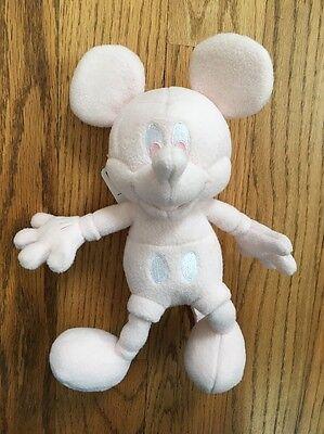 Disney Mickey Mouse Fleece Light Pink Uniqlo Plush Toy [SW]