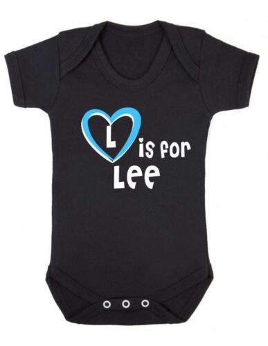 Playsuit Lee Baby Bodysuit Baby Vest L Is For Lee