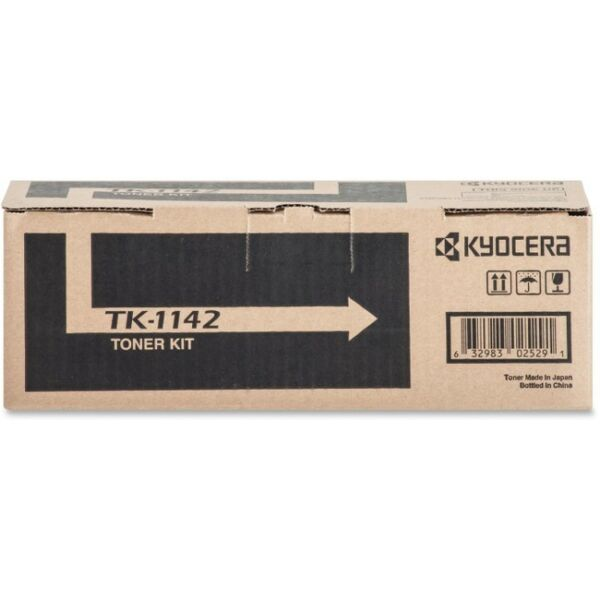 LD Compatible Replacements for Kyocera-Mita TK-1142 Set of 2 Black Laser Toner Cartridges for use in Kyocera-Mita