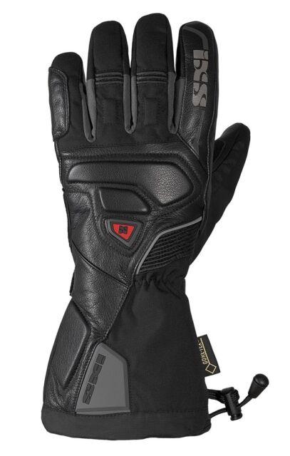 IXS Arctic Winterhandschuhe super warme Motorrad Handschuhe schwarz Gore-Tex®
