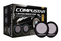 Compustar Car Remote Start Keyless Entry Cs801-s Two 1-button Remotes