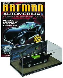DC BATMAN AUTOMOBILIA FIGURE #32: LEGENDS OF THE DARK KNIGHT #64 BATMOBILE