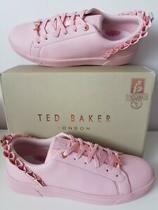 TED BAKER PINK LEATHER ASTRINA WOMENS