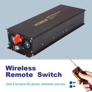 Power-Inverter-24V-to-240V-3000W-Pure-Sine-Wave-DC-AC-Converter-Car-Truck-Remote