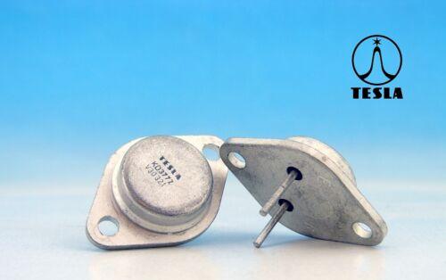 1x KD3772 vintage Tesla Silicon Transistor si//négatif Positif Négatif//60 V//20 A//150 W ~ 2N377