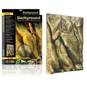 Exo Terra Rock Background Terrarium Viv Climbing Reptile Gecko Snake