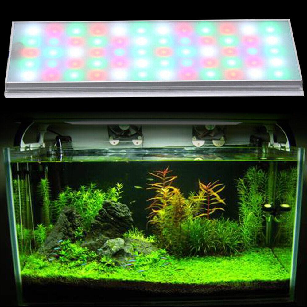 Flexible RGB LED Aquarium Light Plant Grow Fish Tank Lighting Lamp 30-80cm Tank