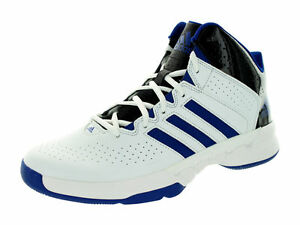 ADIDAS CROSS 'EM 3 LEATHER BASKETBAL SNEAKERS MEN SHOES WHITE S83843 SIZE 13 NEW