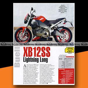 ★ Buell 1200 Xb 12 Ss (xb12ss) ★ 2006 Article De Presse Moto #a1453 Y5zniog2-07235911-610539201