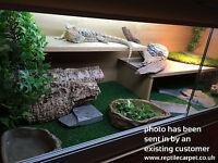 "1x Reptile Carpet Substrate | Vivarium 48""x36"" | Snake | Gecko | Bearded Dragon"