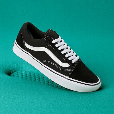 VANS Mens COMFY CUSH OLD SKOOL BLACK VN0A3WMAVNE US M 7 10 Shoes | eBay
